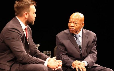 The Creative Collaboration Between Congressman John Lewis and Andrew Aydin